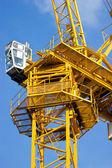 Construction crane. — Stock fotografie