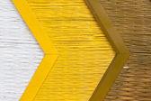 Bamboo mat background painting — Stock Photo