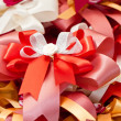 Multicolored gift ribbons. — Stock Photo #32470817