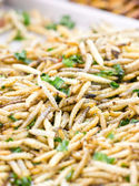 Deep fried caterpillars worms. — Stock Photo