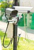 Câmera de vigilância de segurança. — Foto Stock