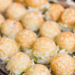 Takoyaki ball Japanese sweetmeat at food market. — Stock Photo #32506967