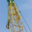 Close up of construction crane. — Stock Photo