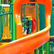 Stock Photo: Colorful playground for children.