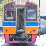柴油内燃机车火车 — 图库照片