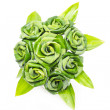 Rose of Pandan leaf — Stock Photo