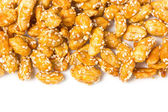 Crispy sugared nuts. — Stock Photo