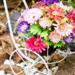 Artificial flower decoration. — Stock Photo