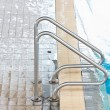 Stair at swimming pool. — Stock Photo