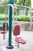 тренажерный зал машина на общественный парк — Стоковое фото