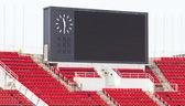 Scoreboard at stadium. — Stock Photo
