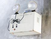 Illuminazione di emergenza a parete. — Foto Stock