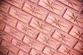 Brick wall texture background. — Stock Photo