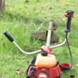 Stock Photo: Lawnmower.