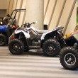 Stock Photo: Polaris ATV on display