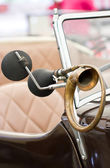 Horn of a classical car. — Stock Photo