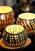 Artificial Candles — Stock Photo