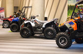 Polaris ATV on display — Stock Photo