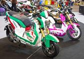 Dekoration honda motorcyklar — Stockfoto
