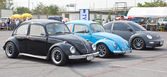 Volkswagen retro vintage bil — Stockfoto