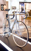 Colnago bicycles on display — Stok fotoğraf