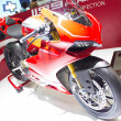 Stock Photo: Ducati 1199 Panigale R motorcycle