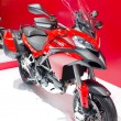 2013 Ducati Multistrada Models First Look motorcycle — Stock Photo