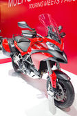 2013 Ducati Multistrada Models First Look motorcycle — Stok fotoğraf