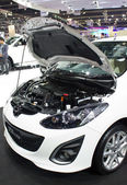 Mazda 2 Elagance on display — Stock Photo