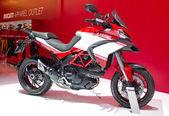 2013 Ducati motorcycle on display — Stock Photo