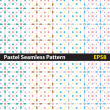 Square seamless pattern — Stock Vector