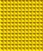 Golden pyramid pattern — Stockvector