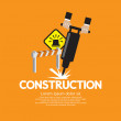 Construction — Stock Vector