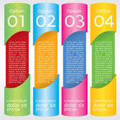 Abstract colorful banner. — Vector de stock