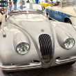 Jaguar XK 120 Roadster 3442 cc on display — Stock Photo