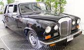 Daimler суверенного серии iii vanden plas 4200 cc на дисплее — Стоковое фото