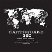 Earthquake Vector Illustration EPS10 — Stock Vector