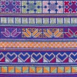 Photo: Thai Hill Tribe Mountaineer Pattern Fabric.