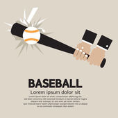 Baseball Vector Illustration — Stock Vector