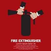 Fire Extinguisher Vector Illustration — Stock Vector