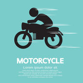 Motorcycle Vector Illustration — Stock Vector