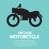 Vintage Motorcycle — Stock Vector