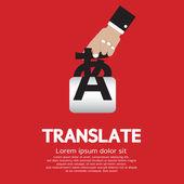 Translate Concept Vector Illustration — Stock Vector