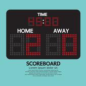Scoreboard Sport Vector Illustration — Vector de stock