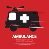 Ambulance Vector Illustration — Stok Vektör