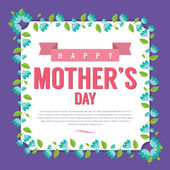 Happy Mother's Day Vector Illustration — Wektor stockowy