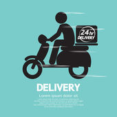 Delivery Vector Illustration — Stock Vector
