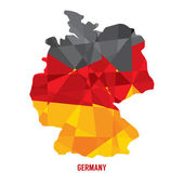 Map of Germany Vector Illustration — Stock Vector