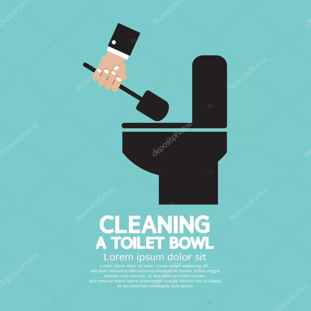 how to clean a toiley