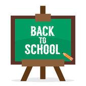 Back to School Vector Illustration — Stock Vector